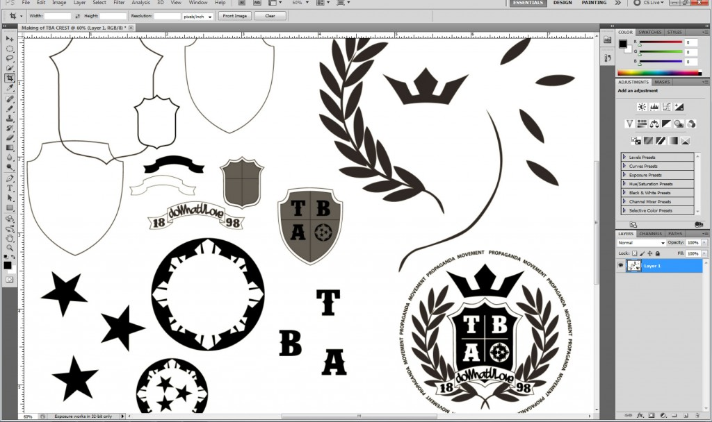 Making of TBA CREST